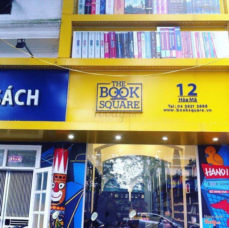 Quán cafe trong khu tổ hợp Quảng trường sách