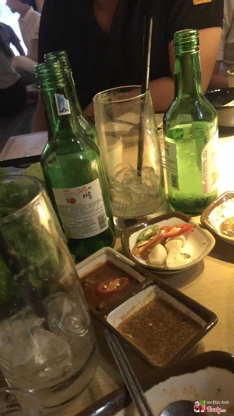 Lai rai thêm với soju đúng chất hàn