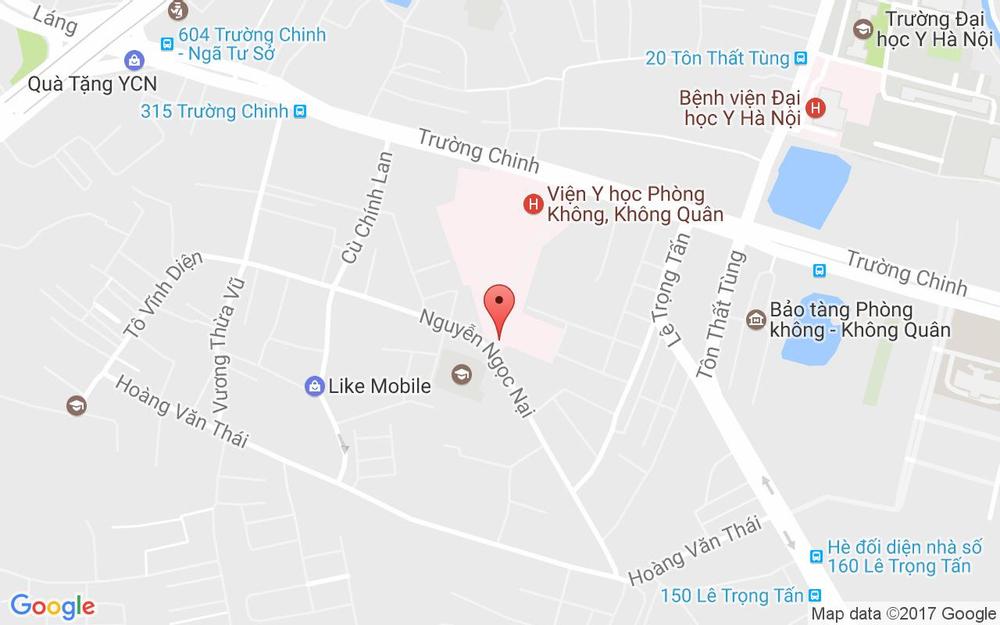 Vị trí bản đồ 8/149 Nguyễn Ngọc Nại Quận Thanh Xuân Hà Nội