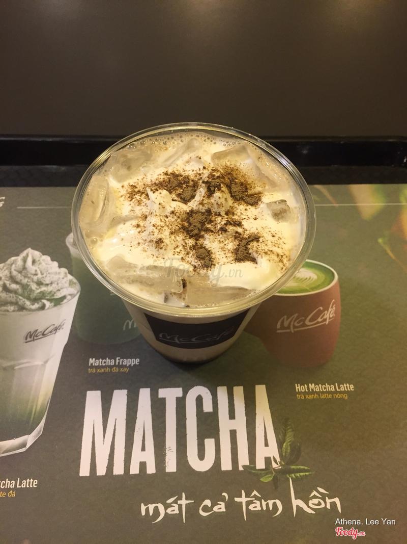 Iced Houjicha Milk