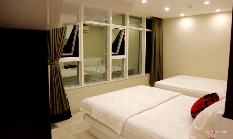 Phòng ngủ 2 giường hướng biển