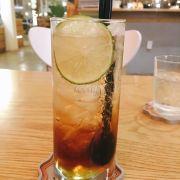 Black Apple Tea. Ko nhớ chính xác tên món, nhưng uống ok