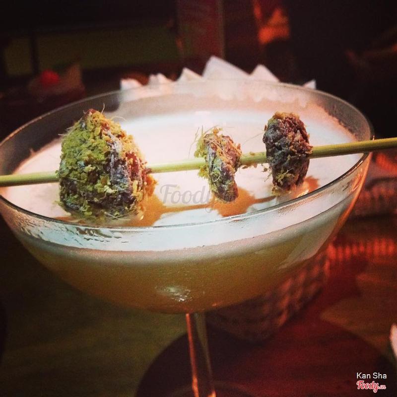 Ô mai cocktail