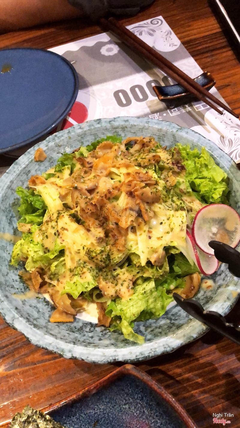 Salad sò điệp và dưa leo