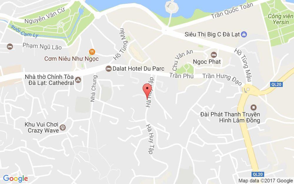 Vị trí bản đồ Khoai Tây Sấy Giòn Ánh Hồng - Hà Huy Tập ở Lâm Đồng