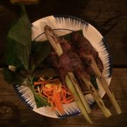 Bò cuộn sả