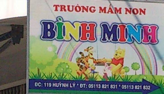 Mầm Non Bình Minh - Huỳnh Lý