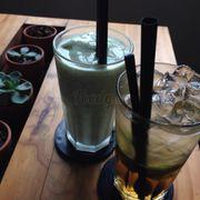 Kiwi passion & lemon saigon