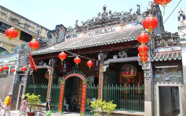 Chùa Bà Thiên Hậu - Nguyễn Trãi