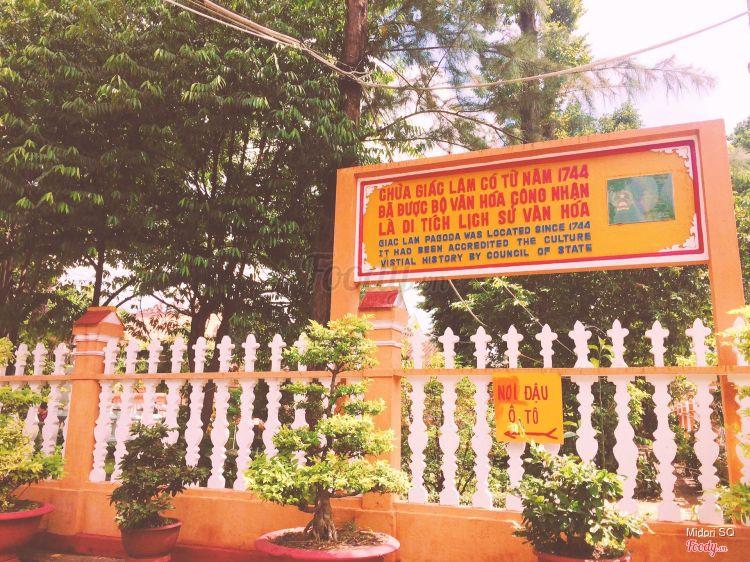 Chùa Giác Lâm - Lạc Long Quân ở TP. HCM
