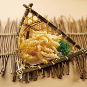 nấm kim châm tempura