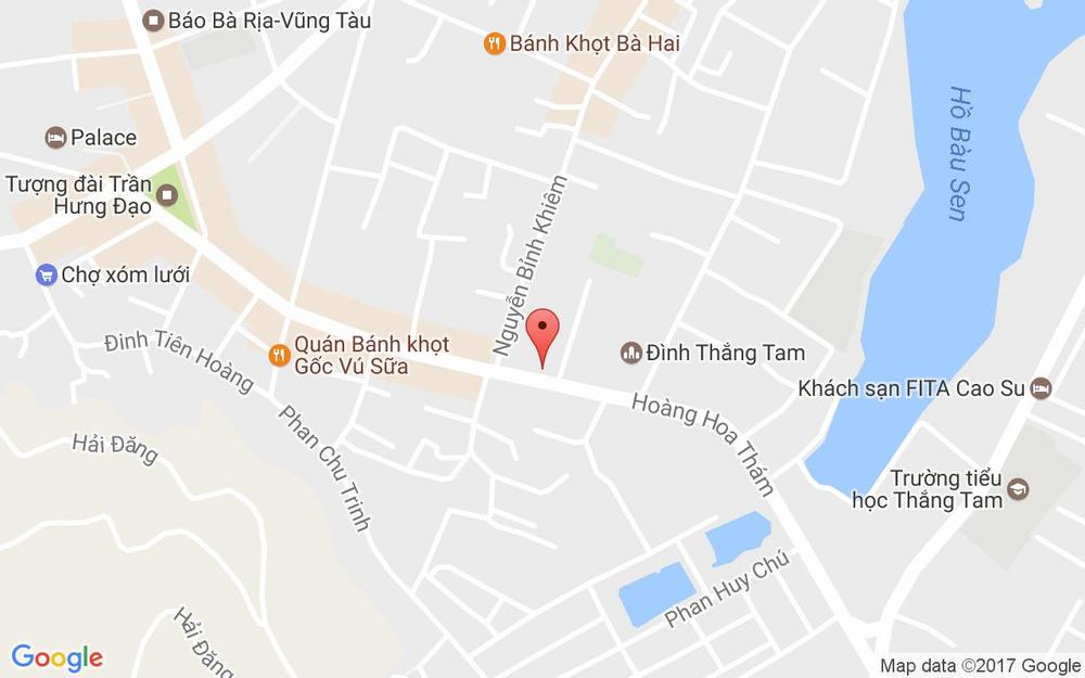 Vị trí bản đồ Linh Sơn Cổ Tự - Hoàng Hoa Thám ở Vũng Tàu