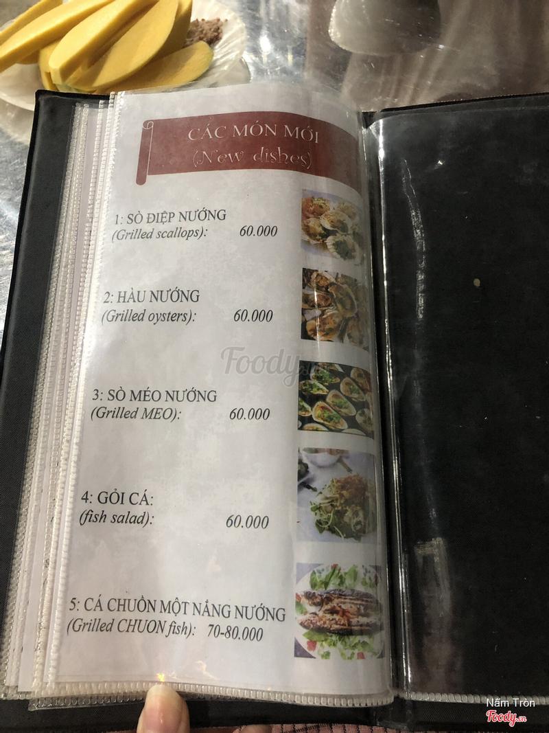 thực đơn