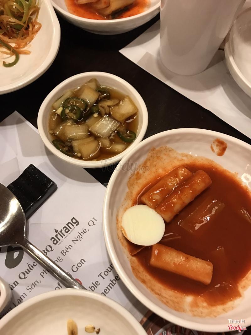 Bánh gạo cay banchan
