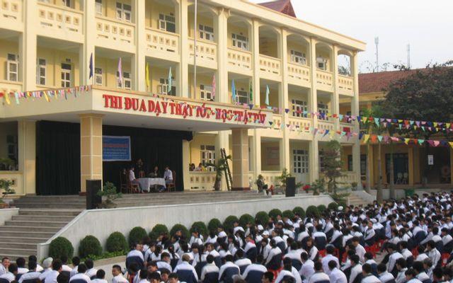 Trường THPT Vũ Văn Hiếu - Hà Tu