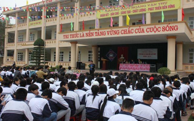 Trường THPT Hoàng Văn Thụ