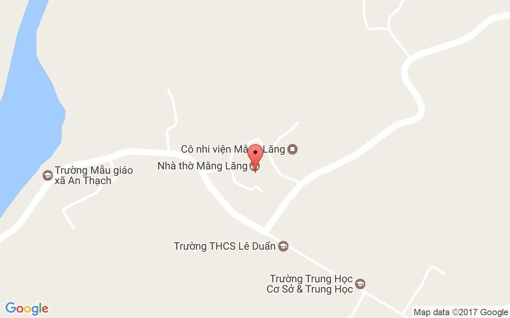 Vị trí bản đồ Nhà Thờ Mằng Lăng ở Phú Yên