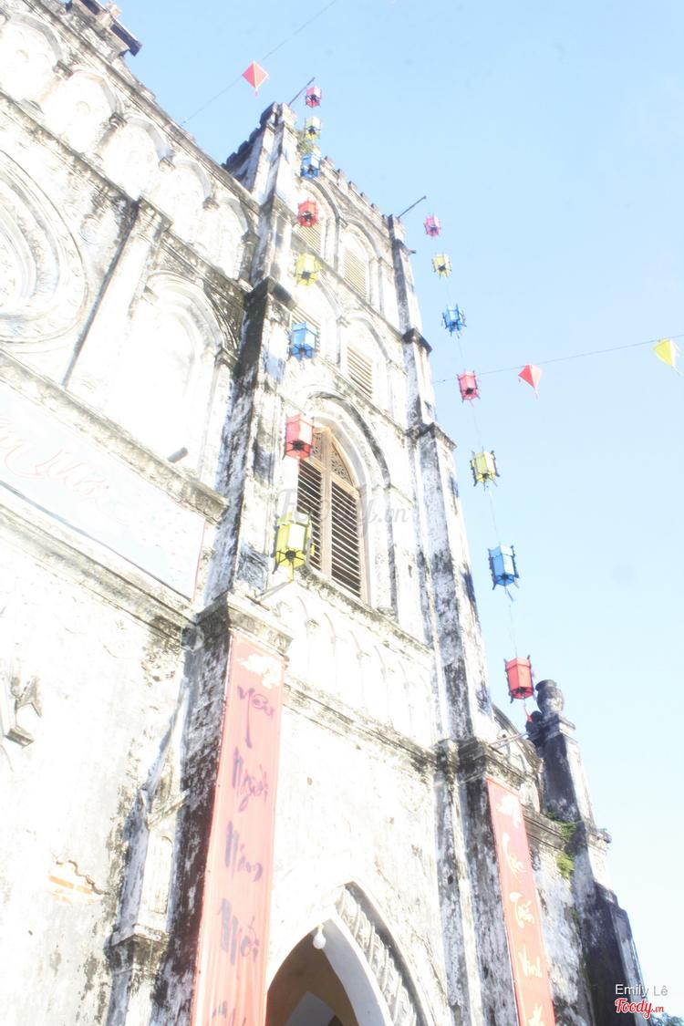 Nhà Thờ Mằng Lăng ở Phú Yên