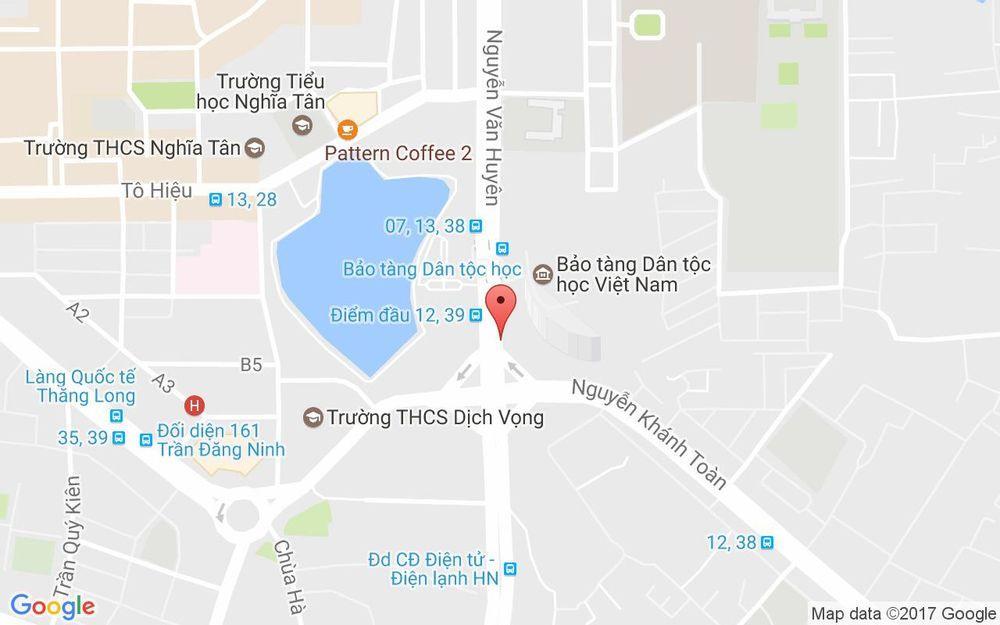Vị trí bản đồ Bảo Tàng Dân Tộc Học Việt Nam - Nguyễn Văn Huyên ở Hà Nội