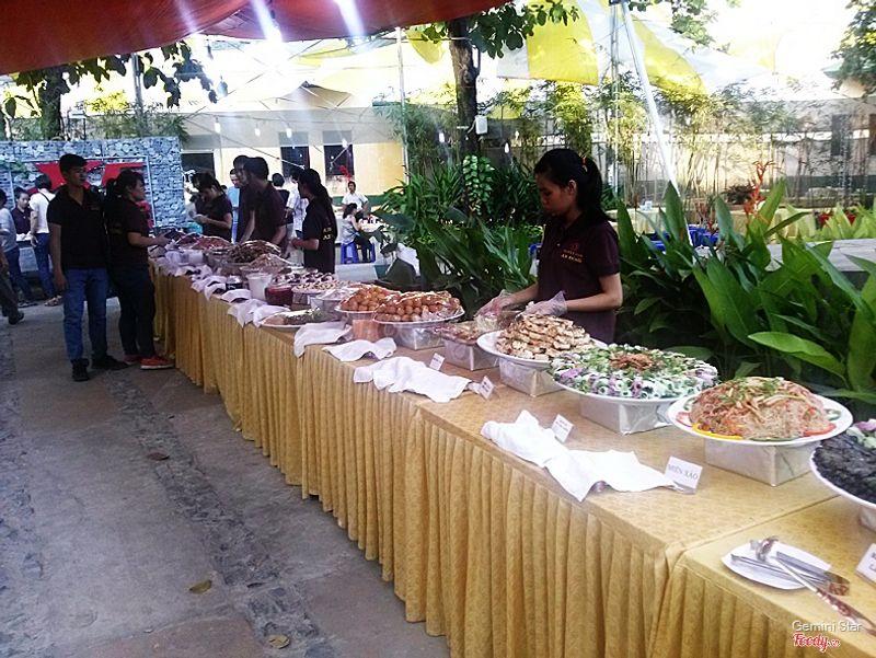 Không gian buffet