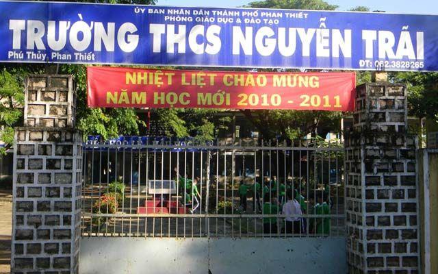 Trường THCS Nguyễn Trãi - Thủ Khoa Huân