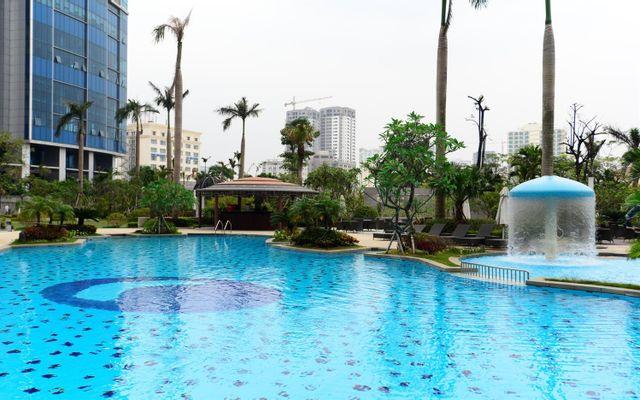 Garden Pool - Keangnam Landmark