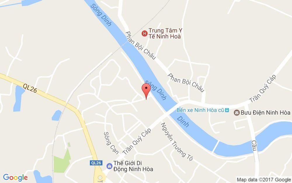 Vị trí bản đồ 62 Lê Lợi Ninh Hòa Khánh Hoà