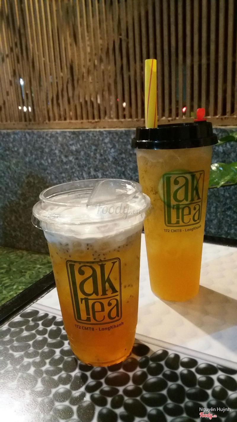 Trà Alishan + trà chanh mật ong