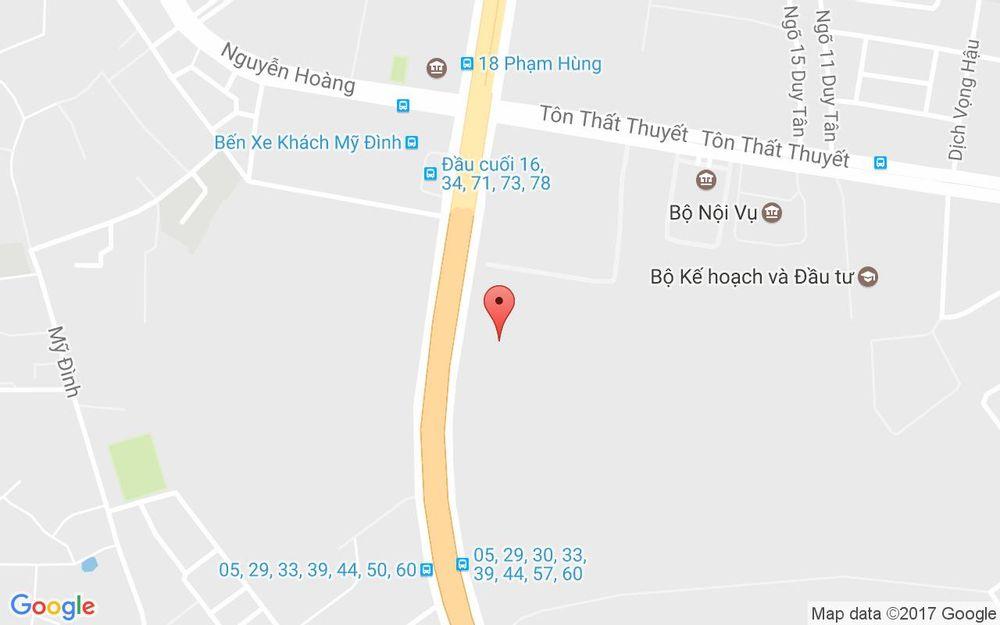 Vị trí bản đồ 72 Phạm Hùng Quận Nam Từ Liêm Hà Nội