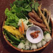 Nem nướng Nha Trang + Cá da bò nướng muốt ớt