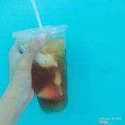 Trời nóng nực một ly sâm dừa ngon mát rẻ ..:))