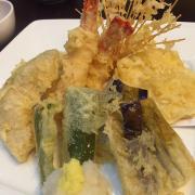 tempura hải sản - rau củ