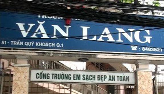 Trường THCS Văn Lang - Trần Quý Khoách