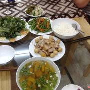 bua ăn gia đình