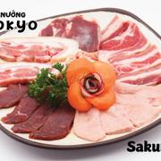 Combo sakura với 6 loại thịt khác nhau (600gram) 449đ