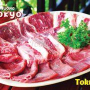 combo Tokyo với 6 loại thịt bò Mỹ (600gram) 529đ