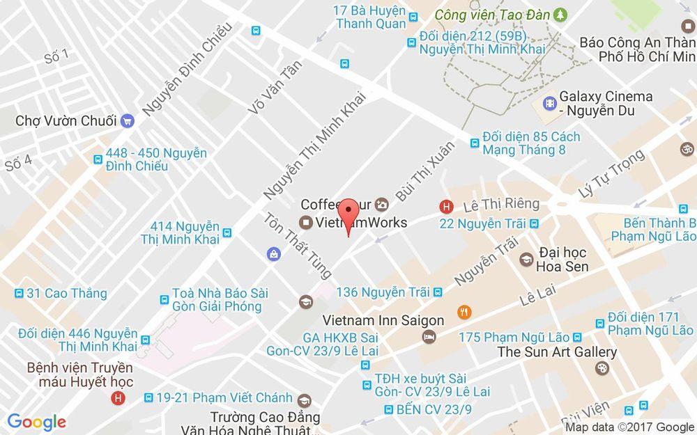 Vị trí bản đồ Showroom NhaRuou - LIQhouse ở TP. HCM