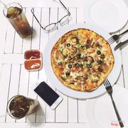 Pizza gà 95k