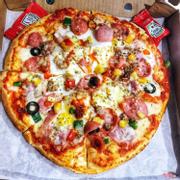 Pizza Trứng phủ cheese béo ngậy tan chảyyy