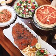 sườn nướng - pizza nhồi phomai
