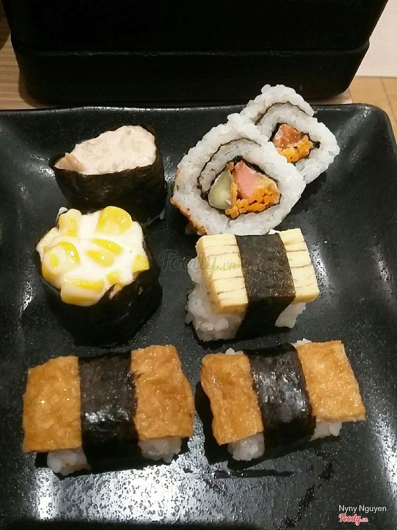 Sushi cập nhật thêm