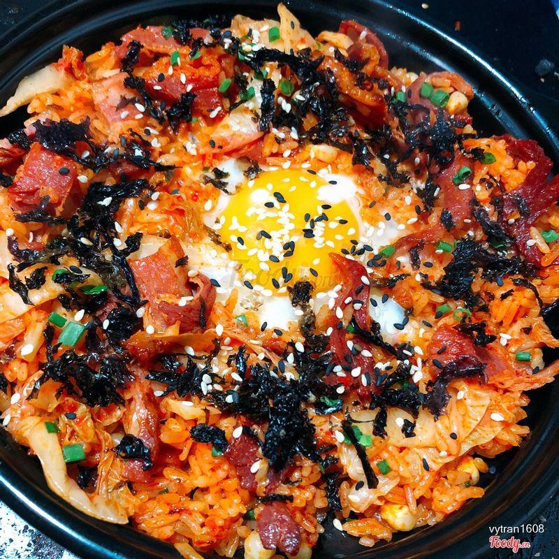Cơm rang kimchi bacon