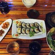 Kimbab - Bulgogi - Salad thập cẩm