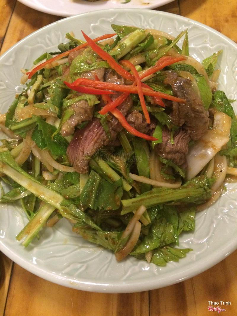 Gỏi bò wasabi
