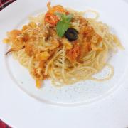 Mỳ ý hải sản không ăn là tiếc:))👍👍👍👍