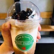 Sữa dừa cafe thạch dẻo