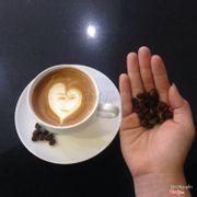 Latte cofee ☕️🍩