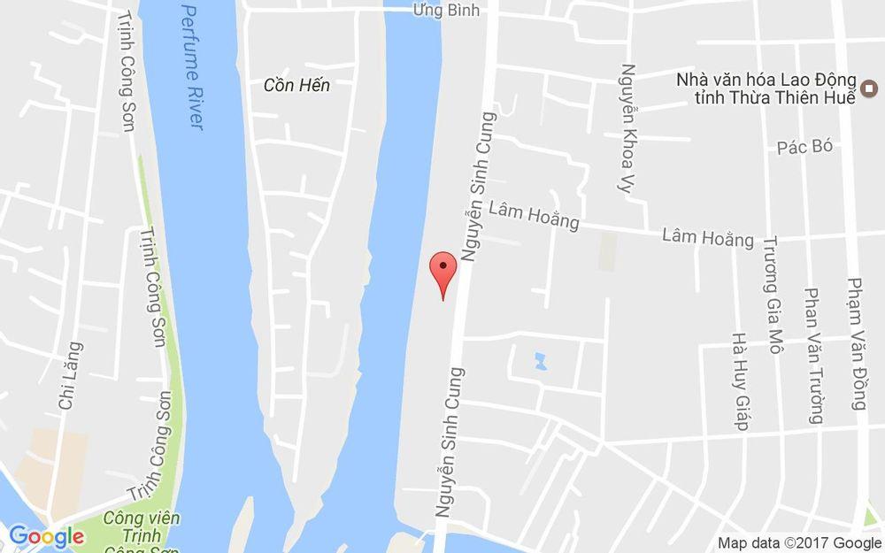 Vị trí bản đồ 79 - 86 Nguyễn Sinh Cung Tp. Huế Huế