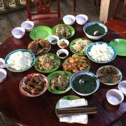Bữa cơm chiều, ăn rất ngon