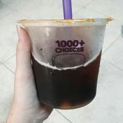 Hồng trà trân châu ly MALU 27k